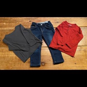Toddler Boy's jeans and shirts